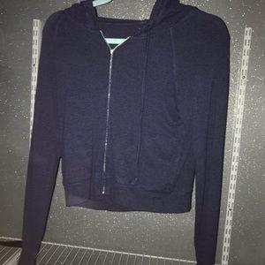 aerie zip up hoodie